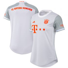 FC Bayern Away Shirt 2020-21 - Womens with Kimmich 6 printing