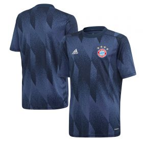 FC Bayern Pre Match Shirt - Navy - Kids