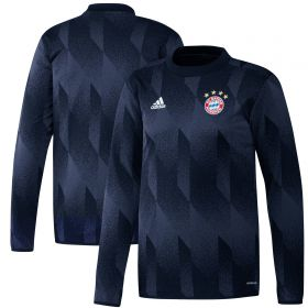FC Bayern Pre Match Warm Top - Navy