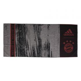 FC Bayern Beach Towel - Black