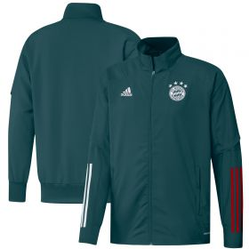 FC Bayern Training Presentation Jacket - Green