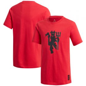 Manchester United T-Shirt - Red - Kids