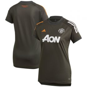 Manchester United Training Jersey - Green - Womens