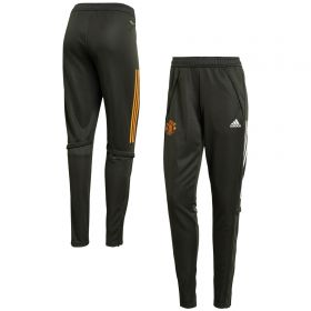 Manchester United Training Pants - Green - Womens