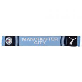 Manchester City Cityzens Scarf - Sky - Adult