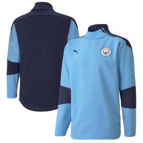 Manchester City Training Fleece - Sky Blue - Kids