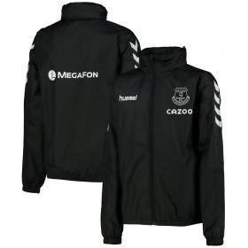 Everton Matchday Lightweight Jacket - Black - Kids