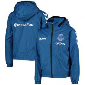 Everton Matchday Lightweight Jacket - Blue - Kids