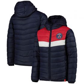 Paris Saint-Germain Padded Jacket - Navy - Kids
