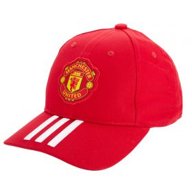 Manchester United Baseball Cap - Red/White