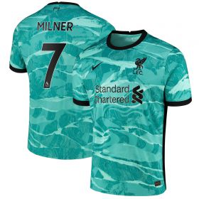 Liverpool Away Stadium Shirt 2020-21 with Milner 7 printing
