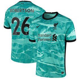 Liverpool Away Stadium Shirt 2020-21 with Robertson 26 printing