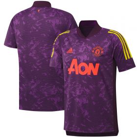 Manchester United Cup Training Jersey - Purple