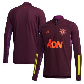 Manchester United Cup Training Top - Purple