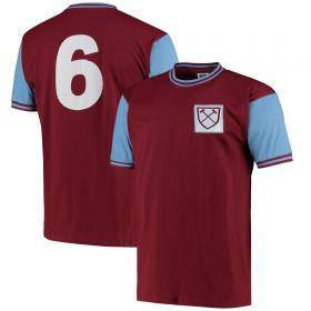 West Ham United 1966 No6 Shirt