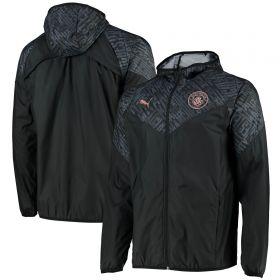 Manchester City Warmup Jacket - Black