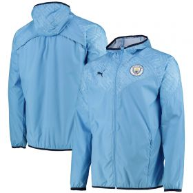Manchester City Warmup Jacket - Sky Blue