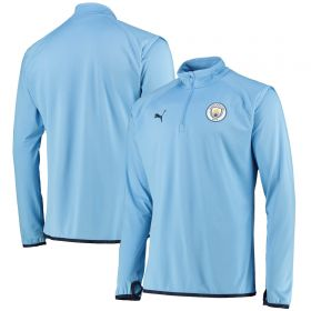 Manchester City Warmup Midlayer Top - Sky Blue