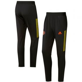 Manchester United Cup Training Pants - Black