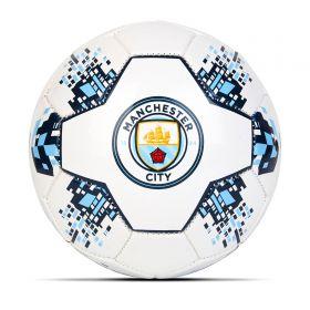 Manchester City Size 5 Nova Football - White