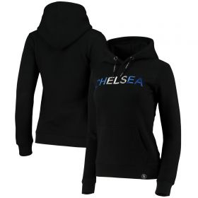 Chelsea Embroidered Hoodie - Black - Womens