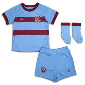 West Ham United Away Baby Kit 2020-21