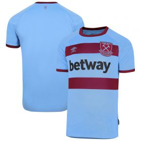 West Ham United Away Jersey 20-21 - Short Sleeve