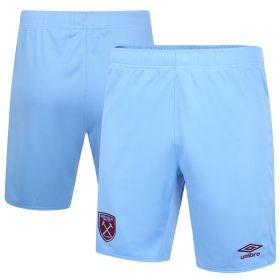 West Ham United Away Shorts - 2020-21 - Junior