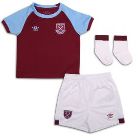 West Ham United Home Baby Kit 2020-21