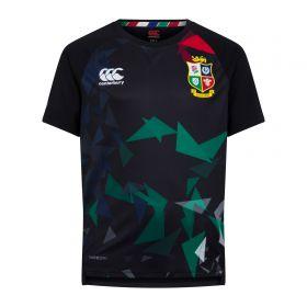 British & Irish Lions Graphic Superlight T-Shirt - Black - Kids
