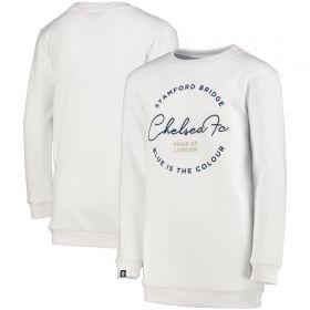 Chelsea Sweater Dress - Snow White - Girls