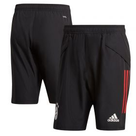 FC Bayern Training Down Time Shorts - Black