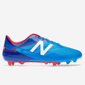 New Balance Furon 3.0 Mid Firm Ground Football Boots - Bolt/Team Royal