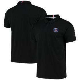Paris-Saint Germain ESSENTIEL Crest Polo - Black - Mens