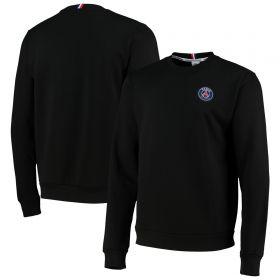 Paris-Saint Germain ESSENTIEL Crest Sweatshirt - Black - Mens