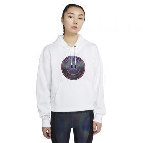 Paris Saint-Germain X Jordan Fleece Hoodie - White - Womens