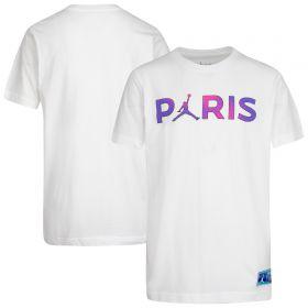 Paris Saint-Germain x Jordan T-Shirt - White - Kids