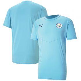 Manchester City Warmup T-Shirt - Sky Blue