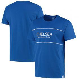 Chelsea Colour Block T-Shirt - Blue - Mens