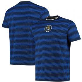 Chelsea Retro AOP T-Shirt - Blue - Mens