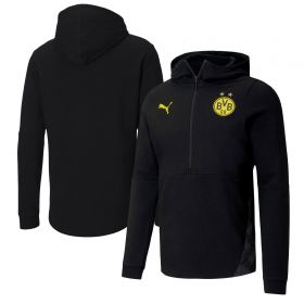 Borussia Dortmund Casuals Hoodie - Black