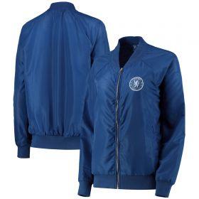 Chelsea Bomber Jacket -Blue - Womens