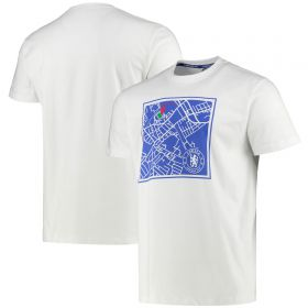 Chelsea Printed T - White - Mens