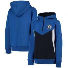 Chelsea Zip Through Hoody - Blue - Boys