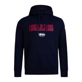 British & Irish Lions Graphic Hoodie - Navy