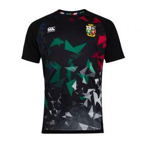 British & Irish Lions Graphic Superlight T-Shirt - Black - Mens