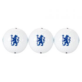 Chelsea Golf Ball Tube - Pack of 3