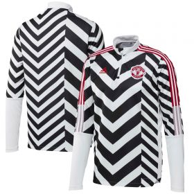 Manchester United All Over Print Track Top