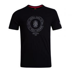 British & Irish Lions Graphic Crest Tee - Black
