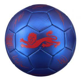 England Phantom Signature Ball - Blue - Size 5